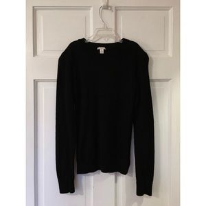 Black S/M Gap Wool Sweater
